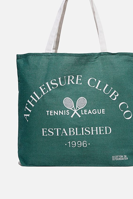 Typo Difference Tote Bag, ATHLEISURE CLUB CO