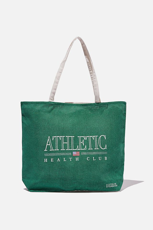 Foundation Co Brands Tote Bag, ATHLETIC HEALTH CLUB