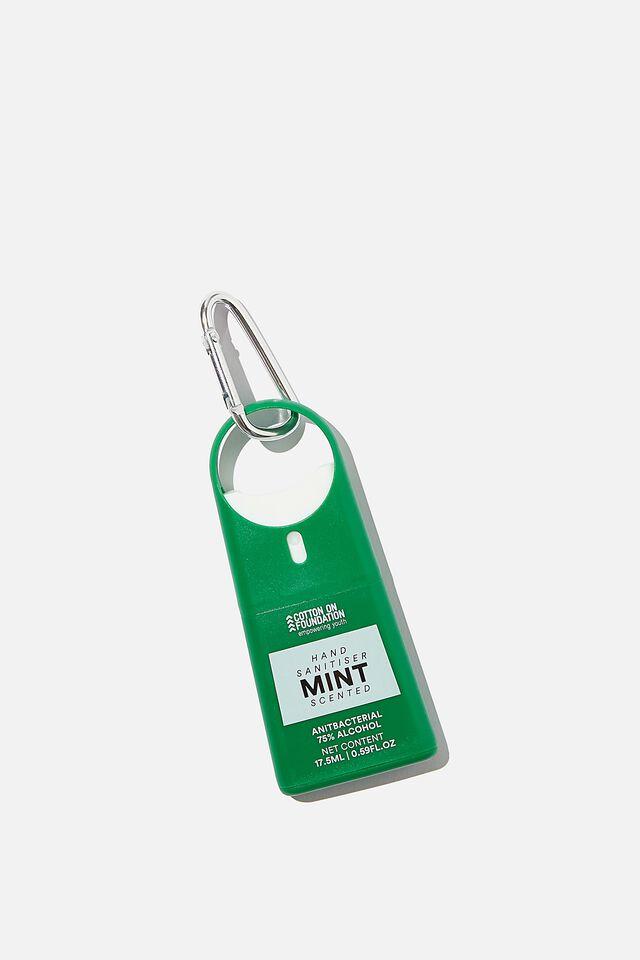 Foundation Hand Sanitiser Spray, MINT/HERITAGE GREEN