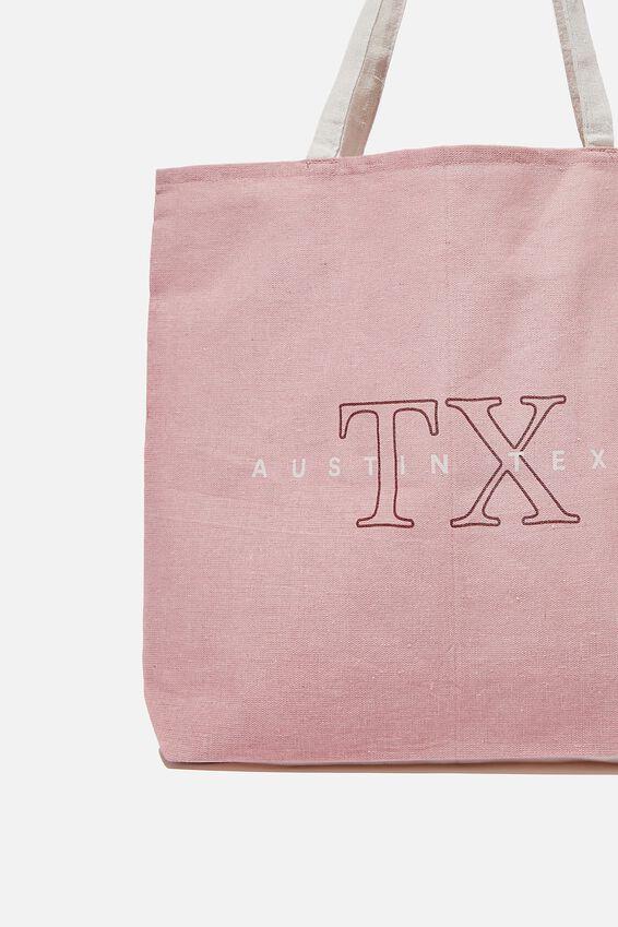 Foundation Co Brands Tote Bag, AUSTIN TEXAS