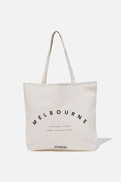 Foundation Destinations Tote Bag, MELBOURNE