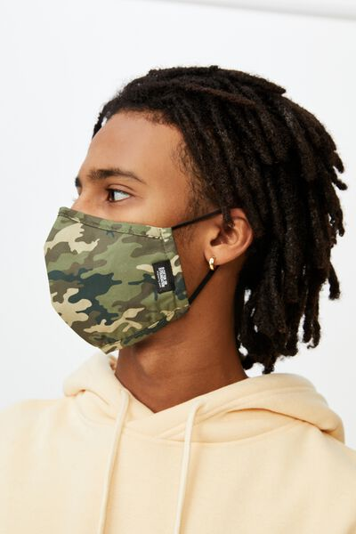 Foundation Face Mask, CAMO