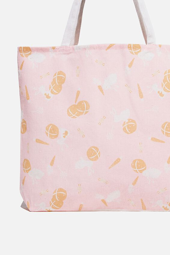 Foundation Body Tote Bag, HOT CROSS BUNNIES