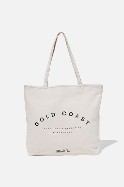 Foundation Destinations Tote Bag, GOLD COAST