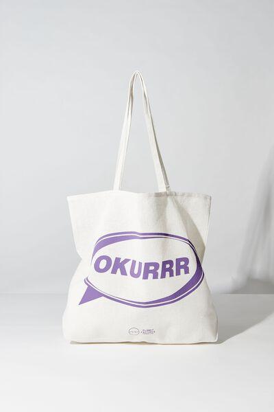 Pf Foundation Tote Bags, OKURRR