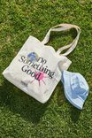 Foundation Adults Organic Tote Bag, DO SOMETHING GOOD