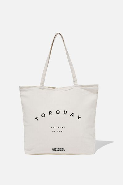 Foundation Destinations Tote Bag, TORQUAY