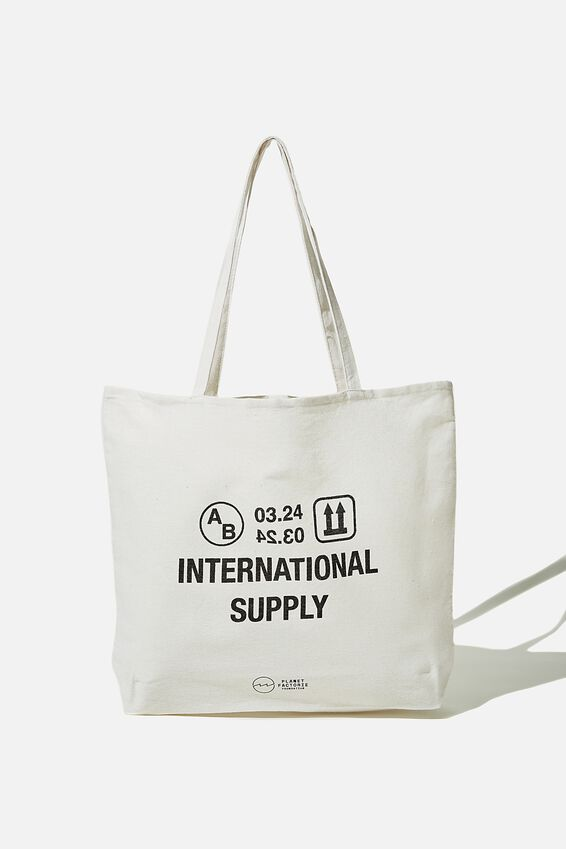 Foundation Factorie Tote Bag, INTERNATIONAL SUPPLY