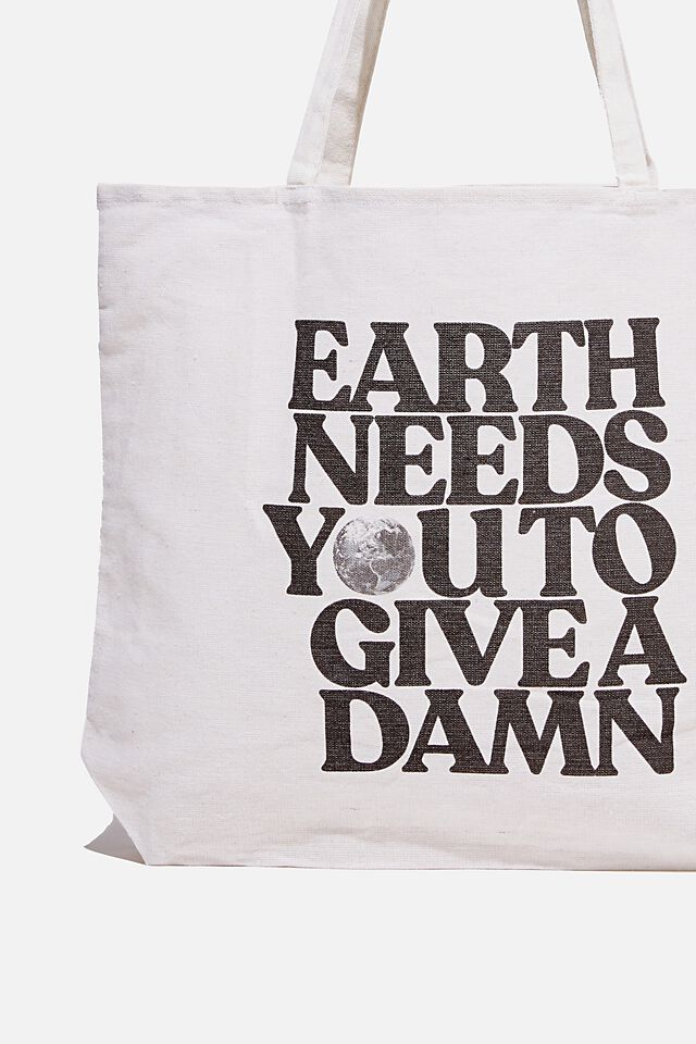 Typo Difference Tote Bag, EARTH NEEDS YOU!