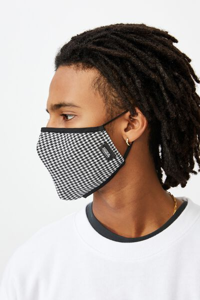 Foundation Mask Adults, HOUNDSTOOTH