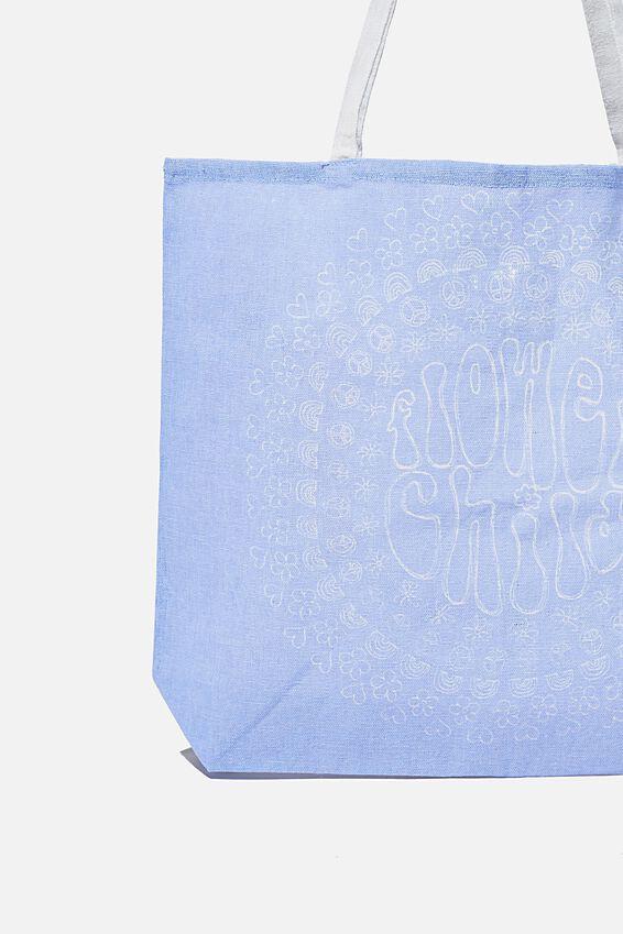 Foundation Body Tote Bag, FLOWER CHILD