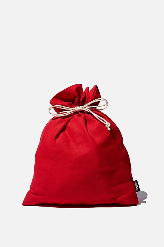 Foundation Medium Gift Bag, CHRISTMAS RED