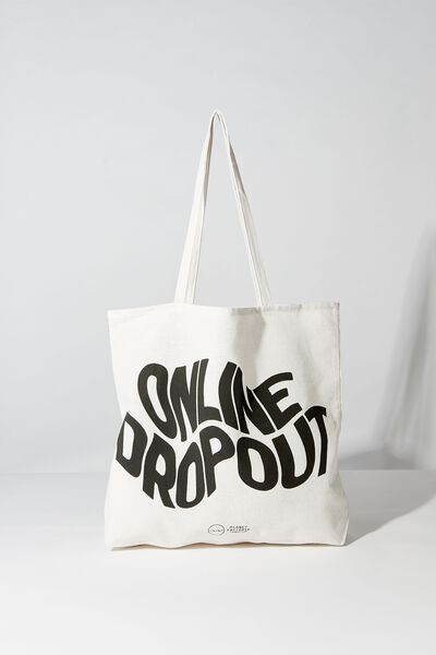 Pf Foundation Tote Bags, ONLINE DROPOUT