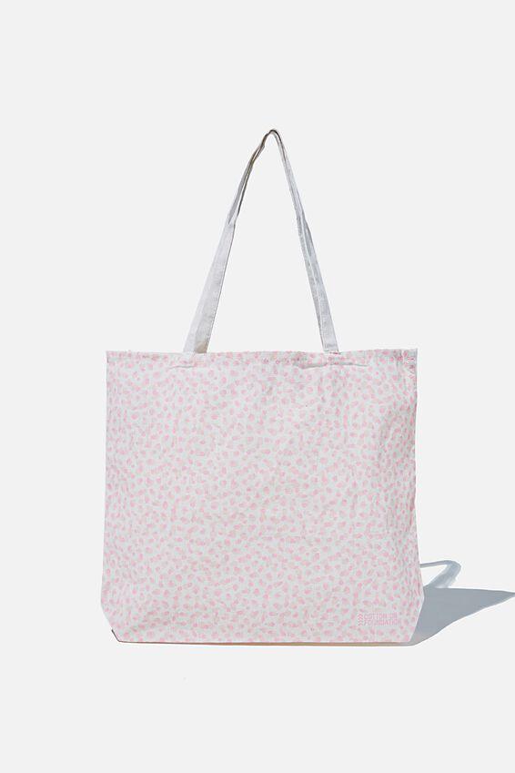 Foundation Body Tote Bag, ORGANIC SPOT