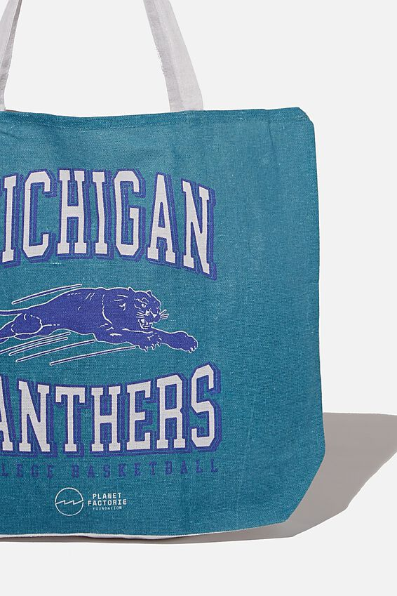 Foundation Factorie Tote Bag, MICHIGAN PANTHERS
