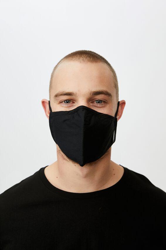 Foundation Face Mask, BLACK