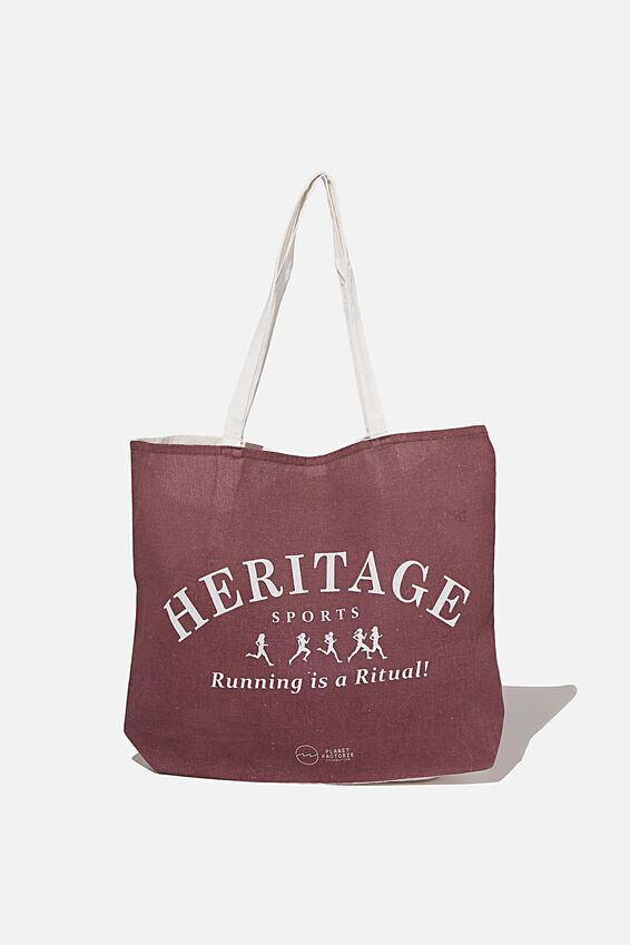 Foundation Factorie Tote Bag, HERITAGE SPORTS