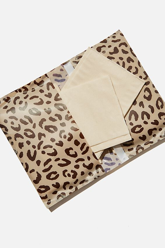 Supre Foundation Bamboo Tissues, LEOPARD