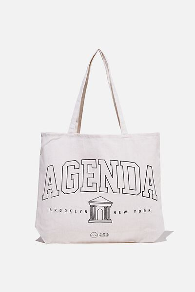 Foundation Factorie Tote Bag, AGENDA