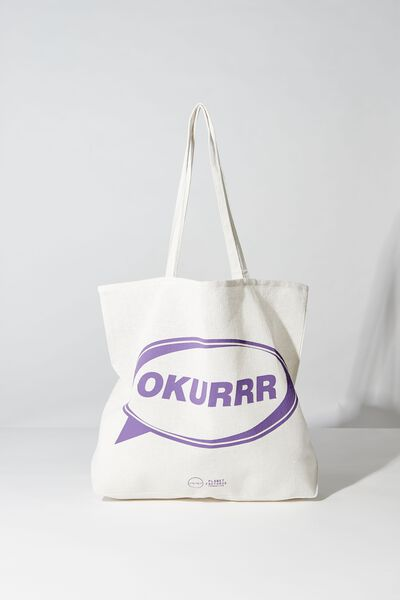 Pf Foundation Tote Bags, OKURRR