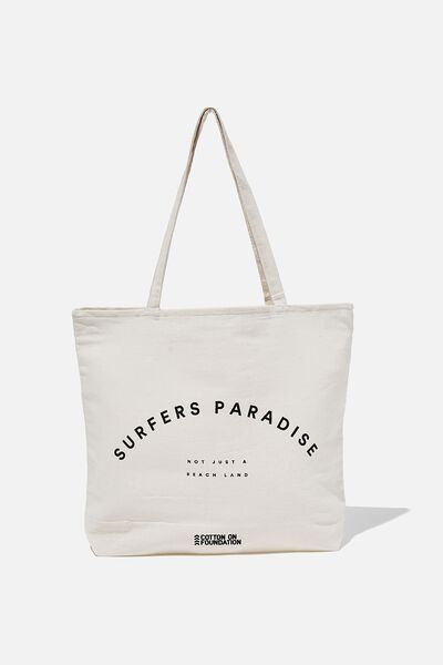 Foundation Destinations Tote Bag, SURFERS PARADISE