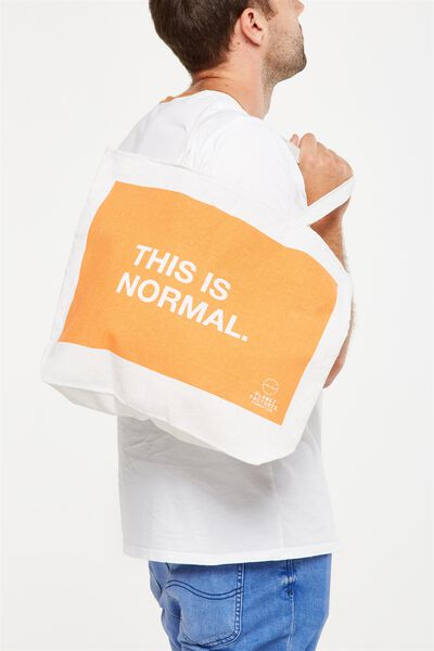 Pf Foundation Tote Bags, THIS IS NORMAL