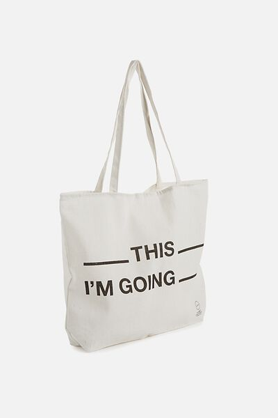 Pf Foundation Tote Bags, FILL IN THE BLANKS