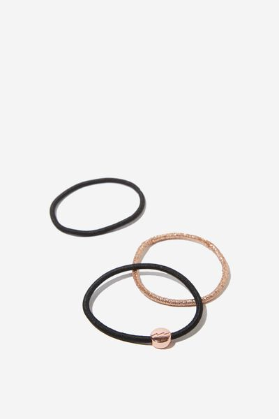 Pf Juliet Band Pack, ROSE GOLD AND BALCK