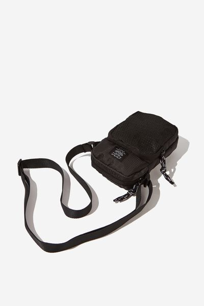 Crossbody Pouch, BLACK