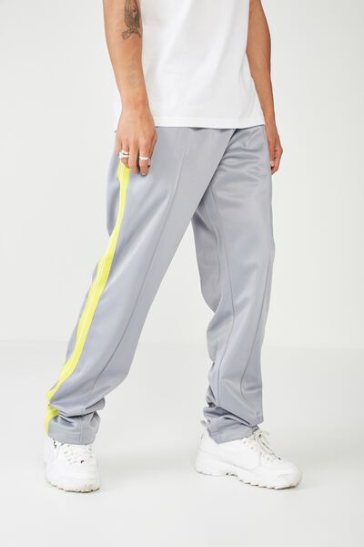 Tricot Track Pant, GREY/SULPHUR SPRING