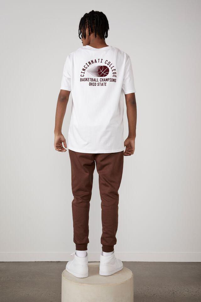 Regular Graphic T Shirt, WHITE/CINCINNATI