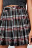 Pleated Skirt, BRIANNA BLACK CHECK