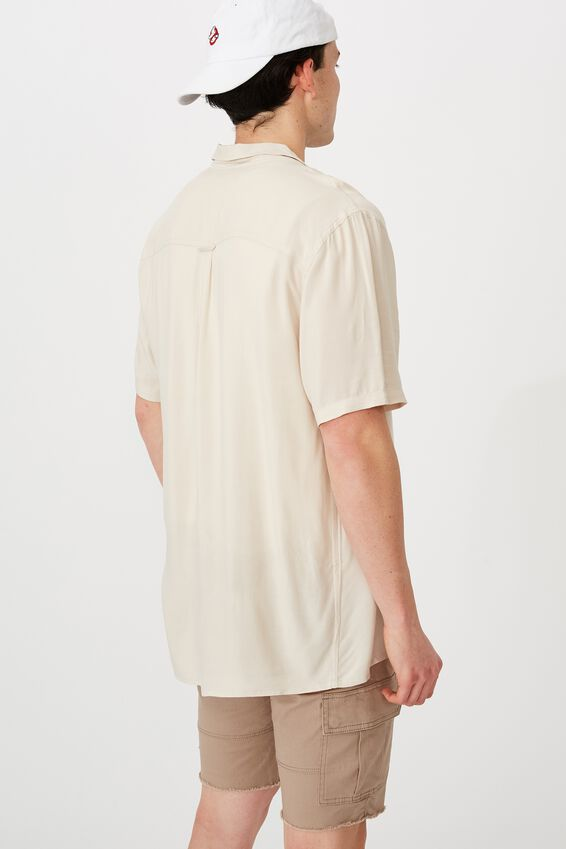 Resort Shirt, BEIGE