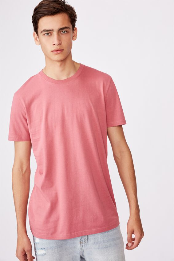 Slim T Shirt, WASHED MUSK