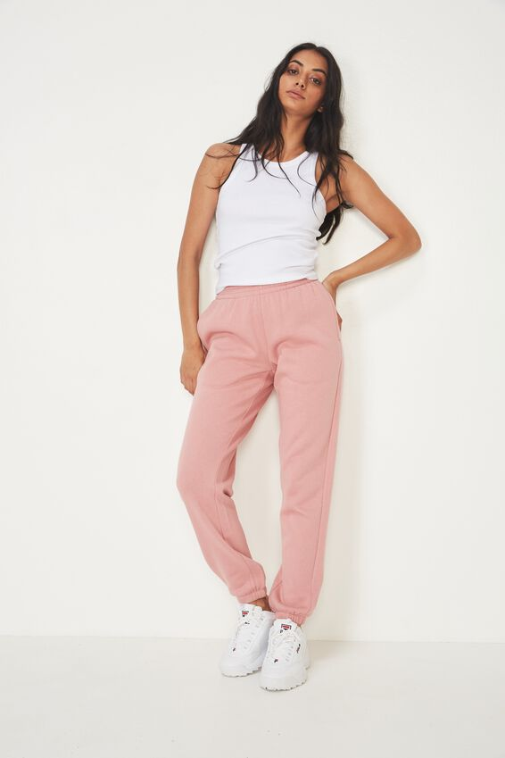 Classic Trackpant, DUSKY PINK