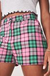SIERSHA GREEN PINK CHECK