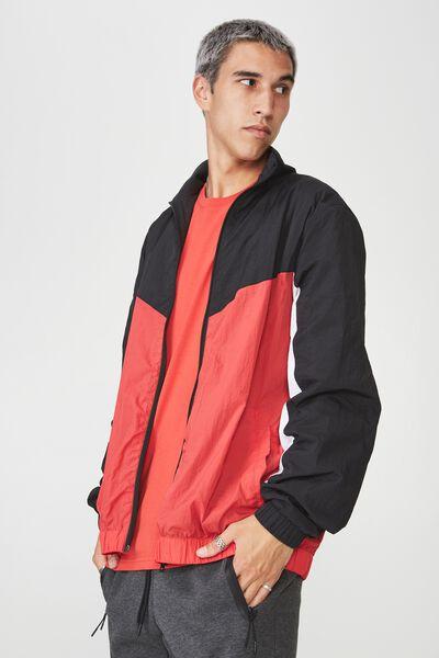 Shell Jacket, TOMATO PUREE SPLICE