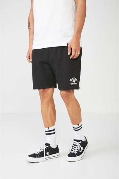 Umbro Lcn Fleece Short, BLACK