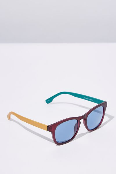 Waymax Sunglasses, M.CRY WINE_BLUE