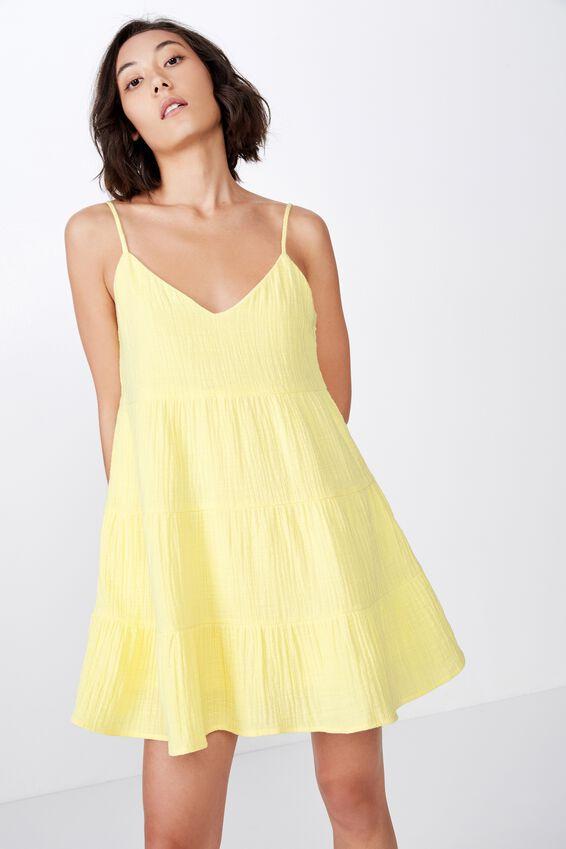 Tiered Dress, POPCORN