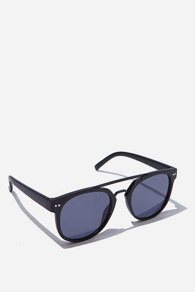 Guys Topbar Sunglasses, BLACK