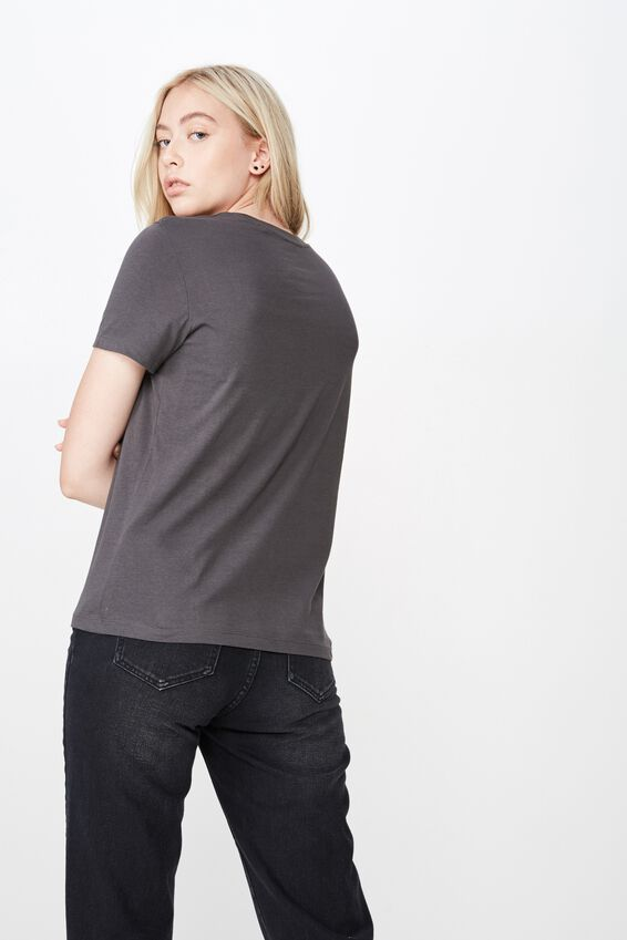 Basic Graphic T Shirt, ASPHALT/NEW YORK