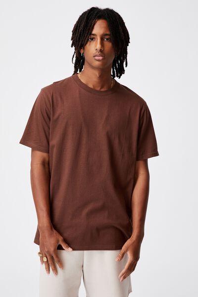 Regular T Shirt, CHOCOLATE