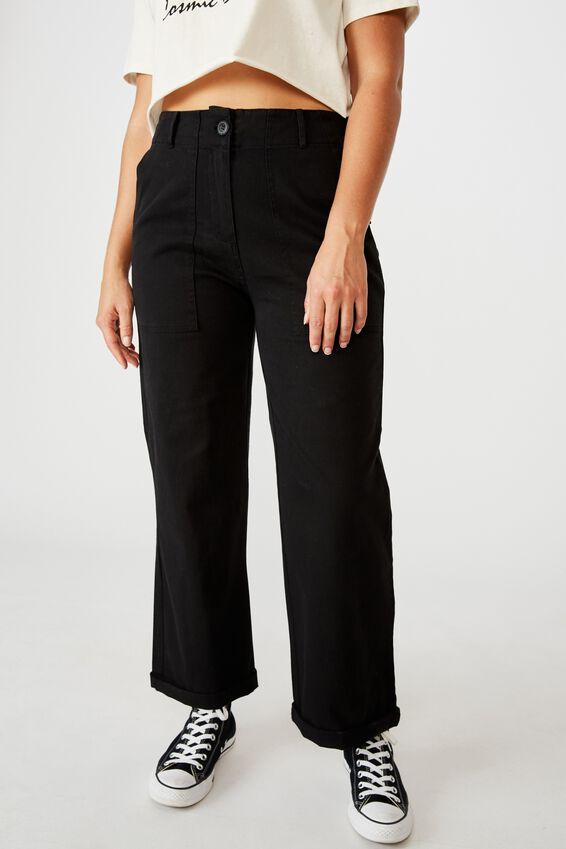 Cargo Pant, BLACK