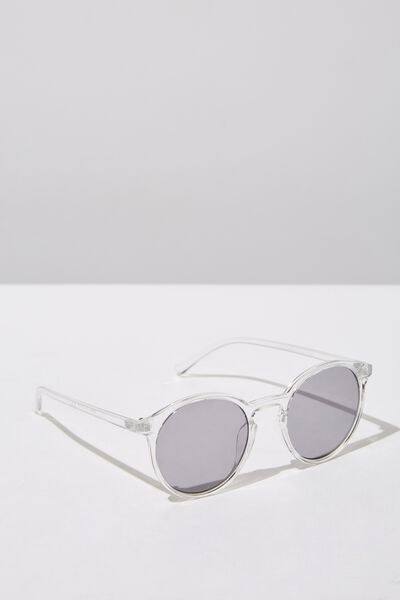 Round Reese  Sunnies, CLEAR_BLK TINT