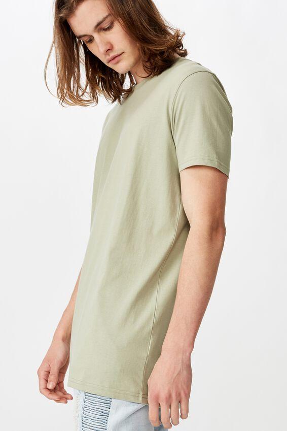 Longline T Shirt, FERN