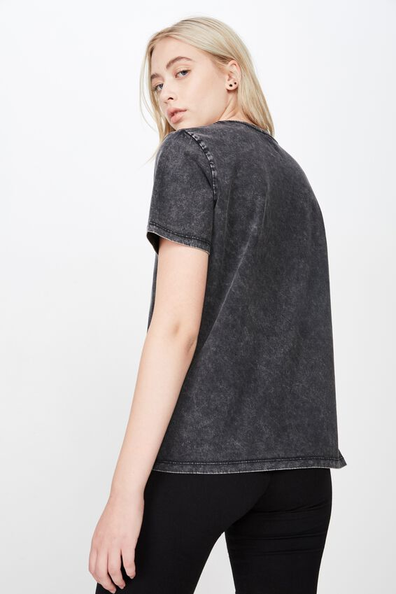 Washed Graphic Tshirt2, BLACK_DAZED