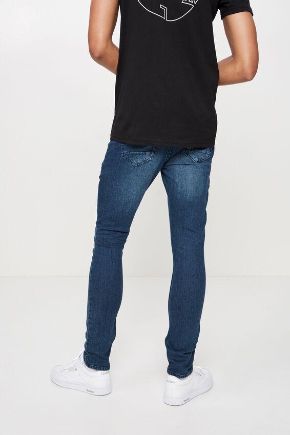 Skinny Leg Denim Jean, INDIGO