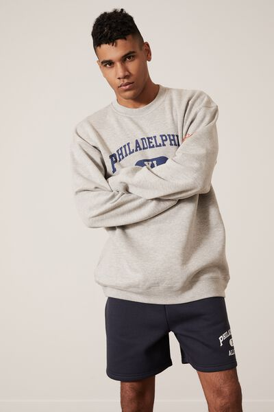Graphic Track Short, NAVY/PHILLY ALL STATE