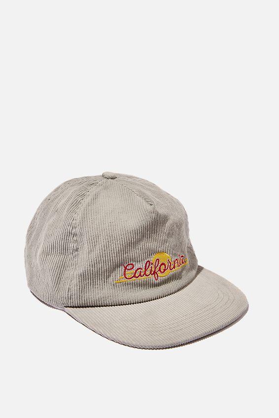 Cord Service Cap, CALIFORNIA